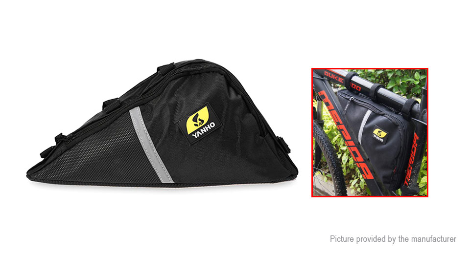 Product Image: yanho-cycling-lightweight-front-tube-triangle-bag