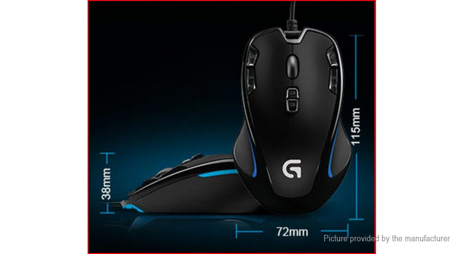 Logitech G300S USB Wired Gaming Mouse