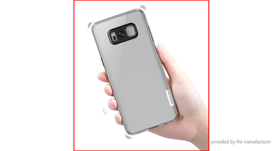 Nillkin Nature Series Protective TPU Back Case Cover for Samsung Galaxy S8+