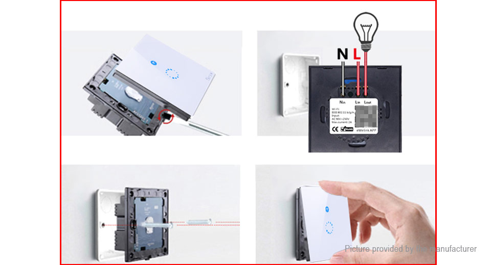 Authentic Sonoff Touch Wifi Smart Switch (EU)