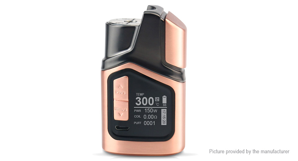 Product Image: authentic-gtrs-gt150-150w-4000mah-tc-vw-apv-mod