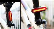 USB Rechargeable Mountain Bike Tail Light LED Safety Warning Lamp