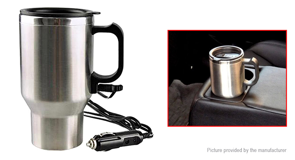 Product Image Car Electric Kettle Heating Water Cup 450ml