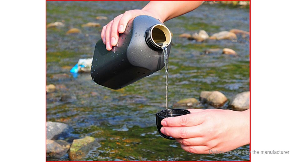 TrackMan Outdoor Sports Aluminum Alloy Water Kettle