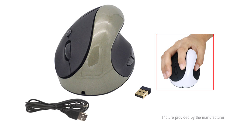 2.4GHz Wireless Vertical Mouse