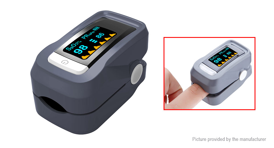 OLED SpO2 HR Fingertip Pulse Oximeter Digital Blood Oxygen Heart Rate Meter Monitor