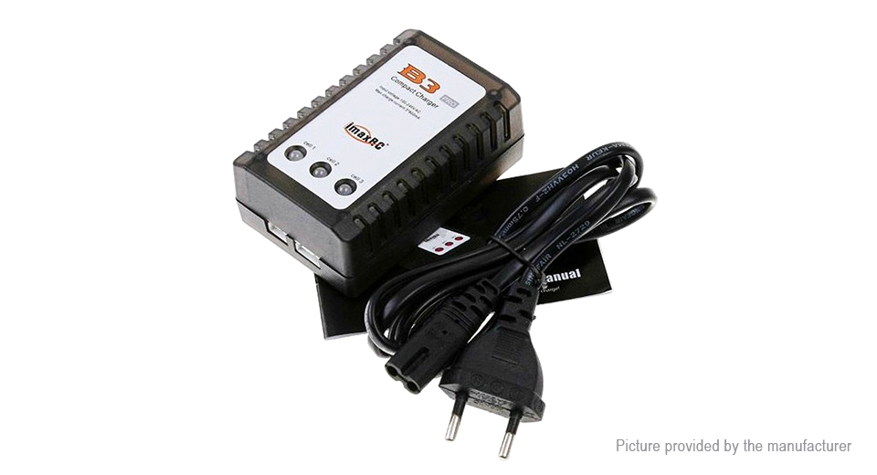 B3 Pro 7.4V / 11.1V Lithium Battery Balance Charger for R/C Models (EU)