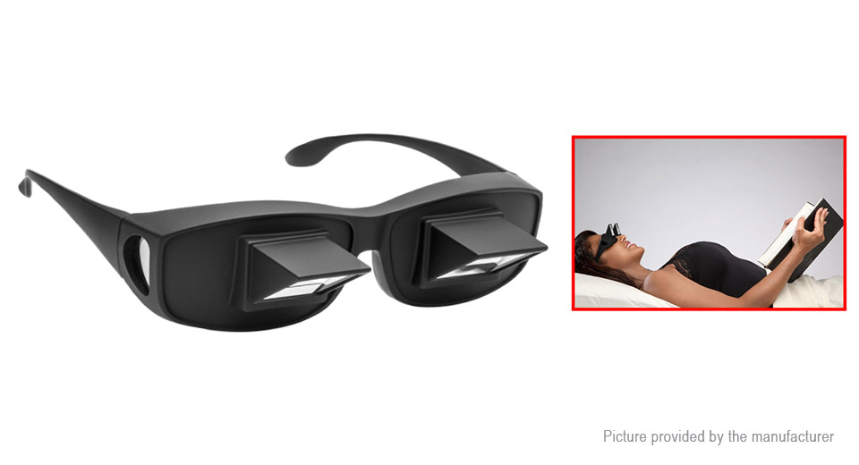Prism Glasses Horizontal Lazy Spectacles