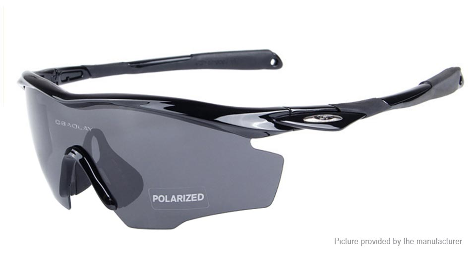 Authentic OBAOLAY SP0891 Outdoor Cycling Polarized Glasses Goggles