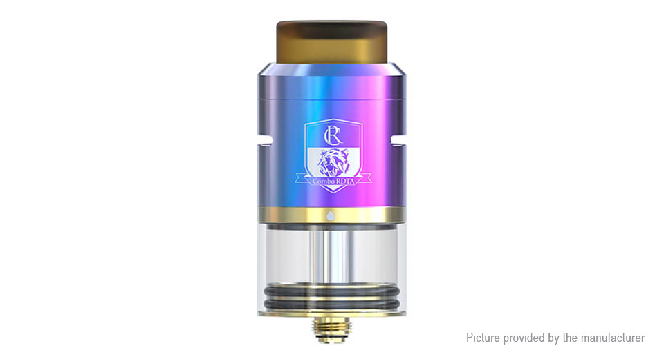 Authentic IJOY Combo RDTA II Rebuildable Dripping Tank Atomizer