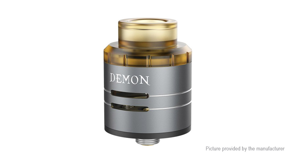 Authentic VOOPOO DEMON RDA Rebuildable Dripping Atomizer