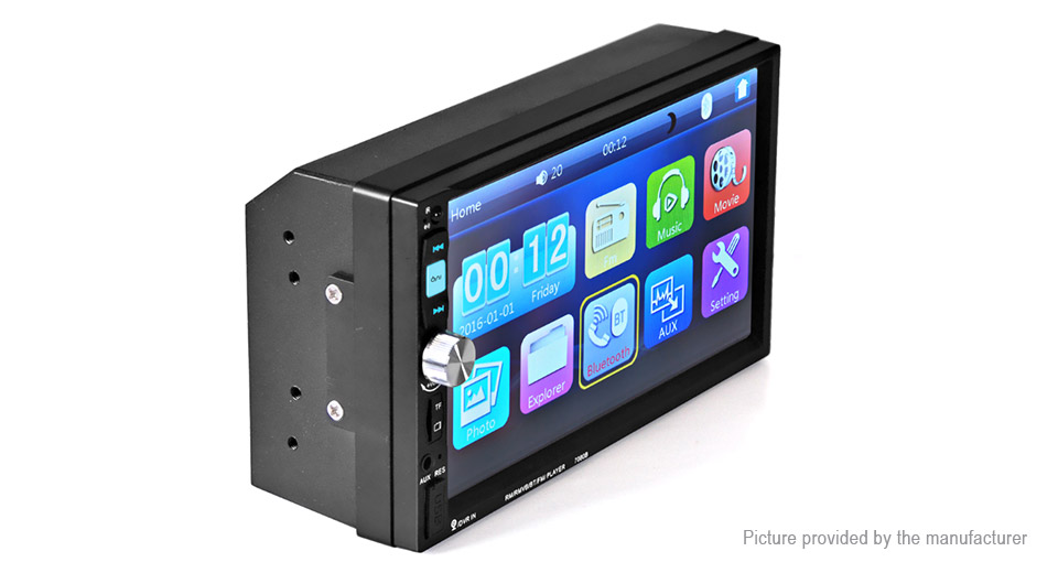 "7"" Touch Screen Car Bluetooth V2.0 MP5 Player"