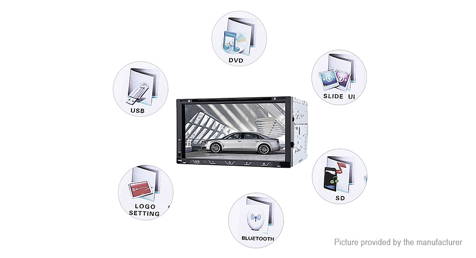 61 19 7 u0026quot  tft hd touch screen car audio dvd player