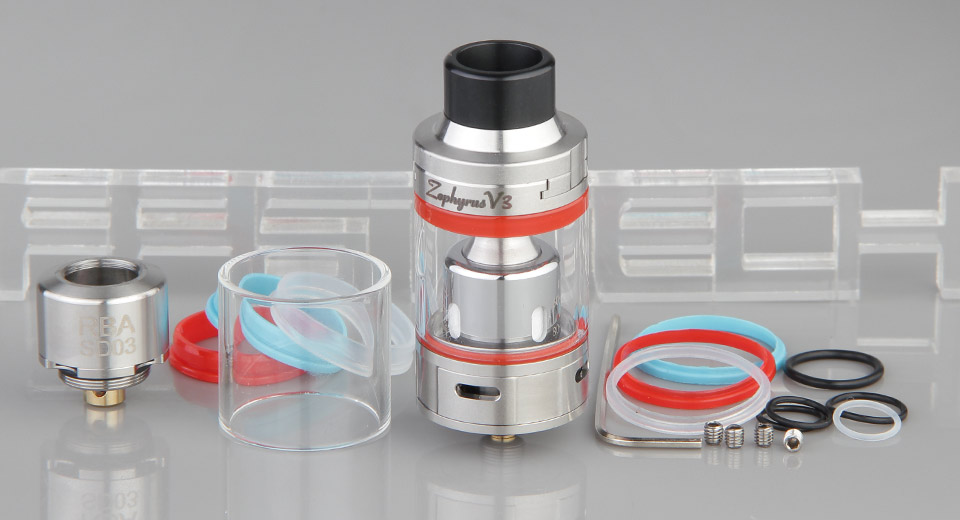 Product Image: authentic-youde-ud-zephyrus-v3-sub-ohm-clearomizer