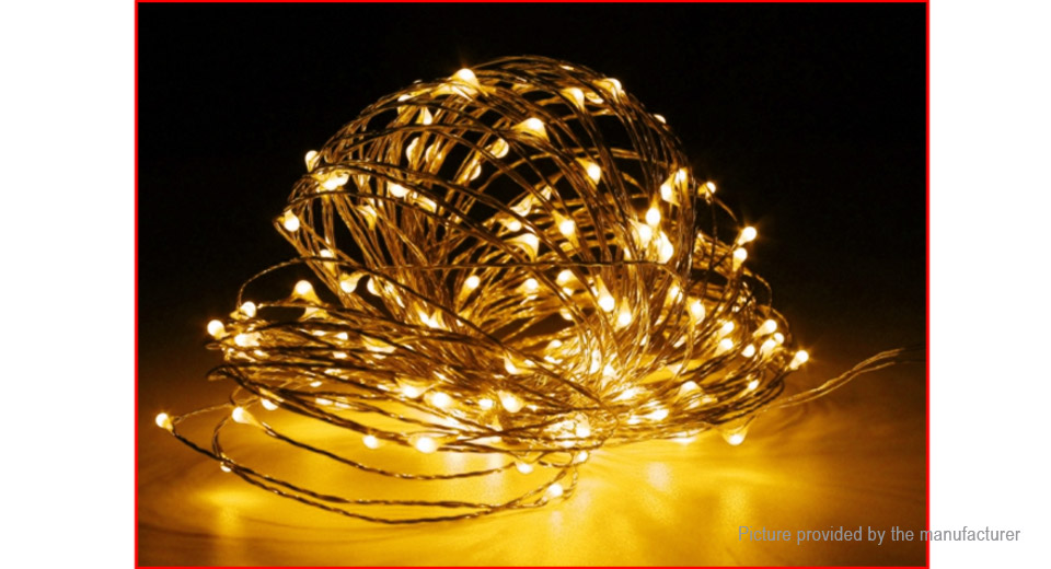 200*LED Copper Wire Decorative String Fairy Light (20m)