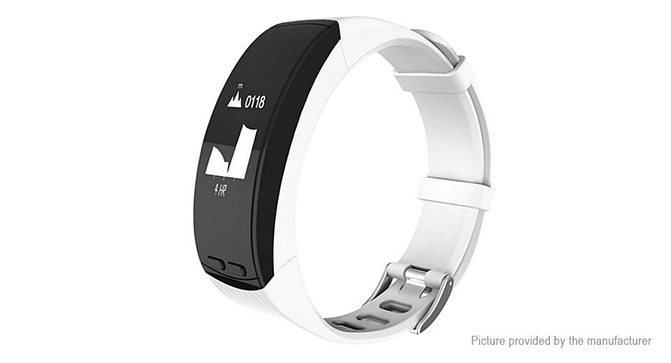 "P5 0.96"" OLED Bluetooth V4.0 Smart Bracelet Wristband"