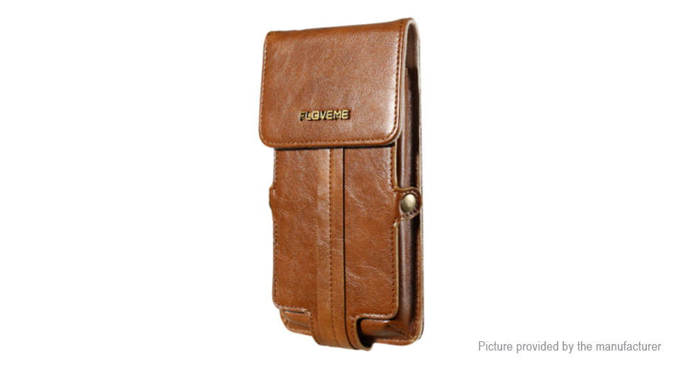 Product Image: floveme-leather-wallet-case-waist-bag-for-cell