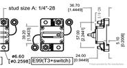 100A Circuit Breaker Manual Power Fuse Rest