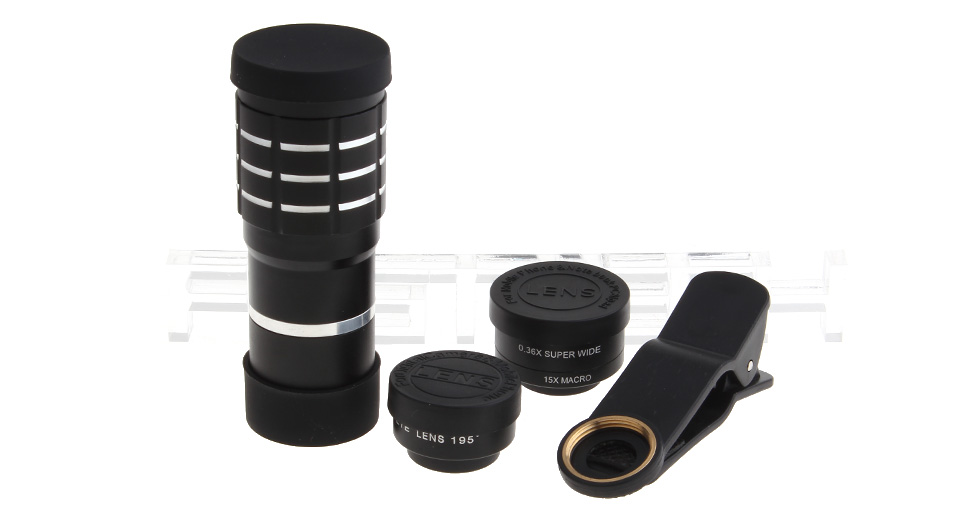 Clip-On 10X Zooming Mobile Phone Telephoto Lens