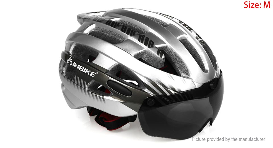 INBIKE Integrally Mountain Bicycle Cycling Goggles Helmet (Size M)