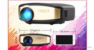 Cheerlux C6W 1080p HD LED Projector Home Theater (US)