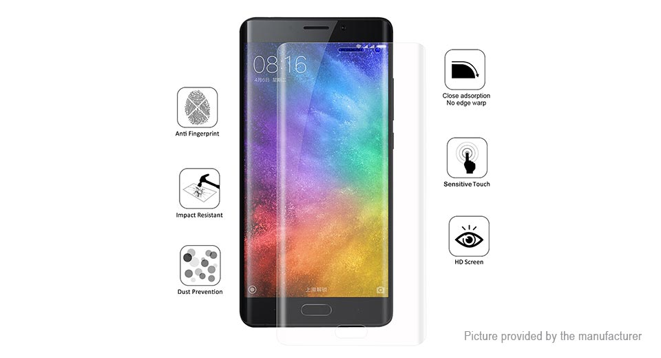 Hat.Prince 3D TPU + TPE + PET Screen Protector for Xiaomi Note 2