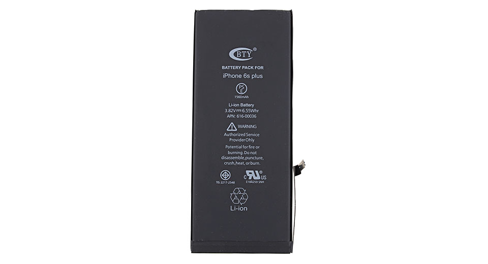 Product Image: bty-3-82v-2750mah-rechargeable-li-ion-battery-for