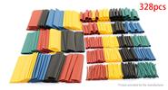 Heat Shrink Tubing Wire Cable Sleeving Wrap Tube Kit (328 Pieces)