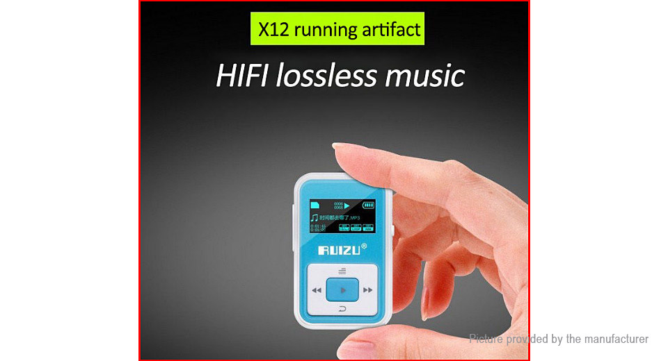 RUIZU X12 Sports MP3 Player (8GB)