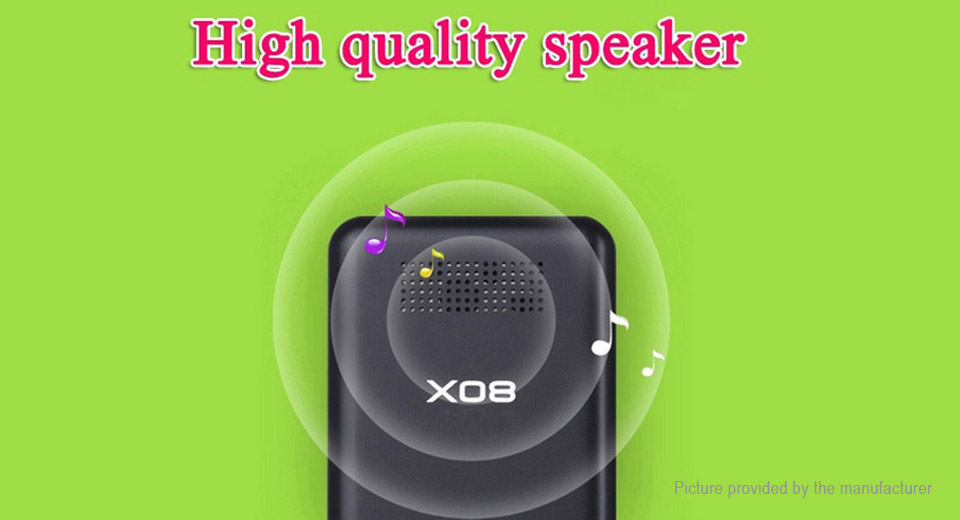 RUIZU X08 HiFi Sports MP3 Player (8GB)