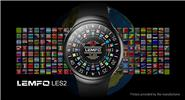 "LEMFO LES2 1.3"" IPS Touch Screen 3G Smart Watch Phone"