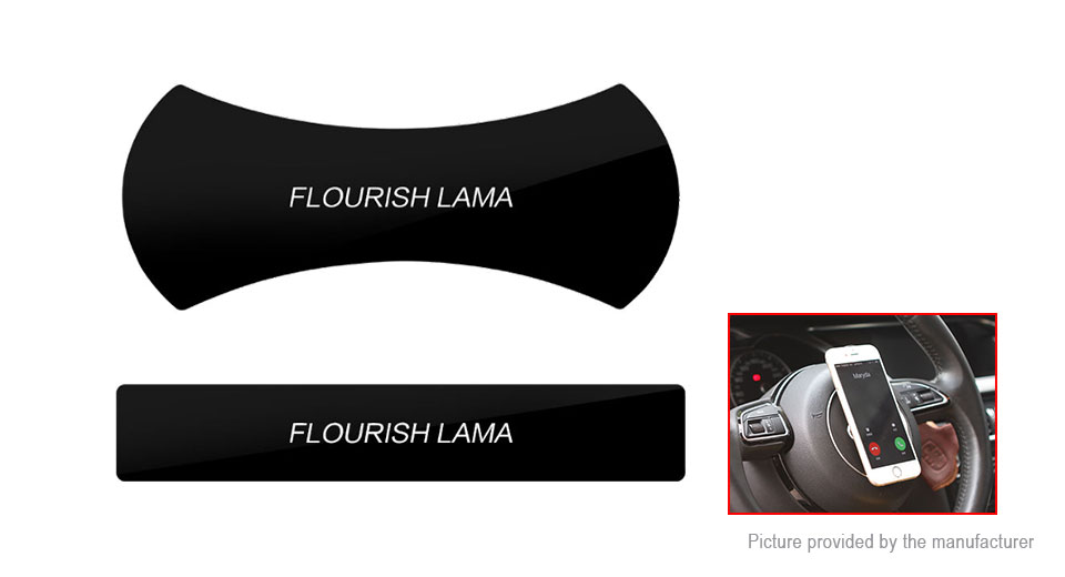 Flourish Lama Nano Rubber Pad Washable Fast Swift-snap Car Bracket Pod