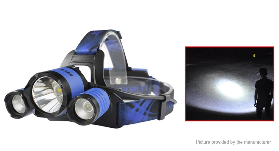 Product Image: boruit-b21-triple-head-led-headlamp-gift-set