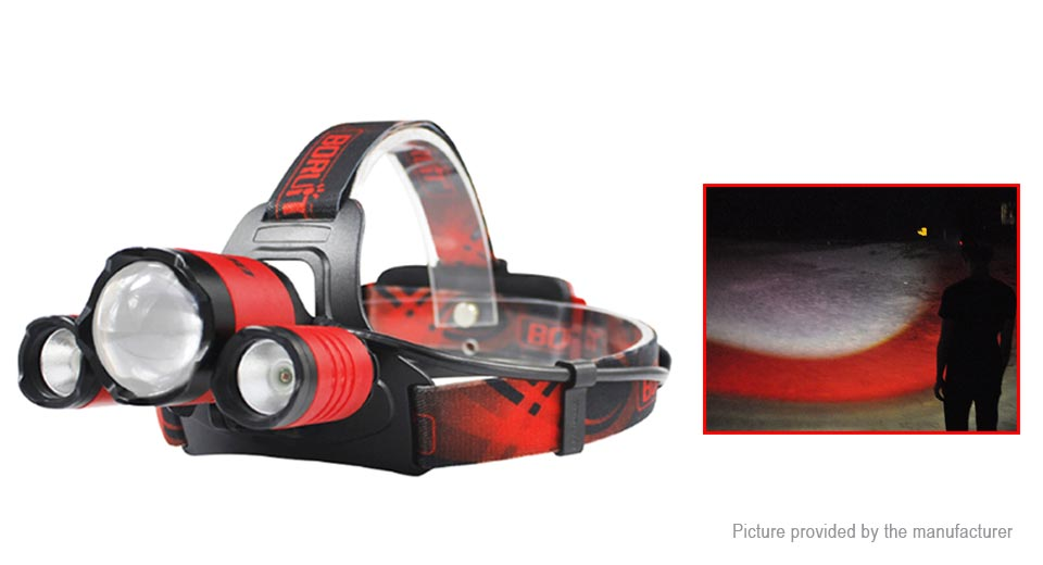 Product Image: boruit-b22-led-headlamp-gift-set-w-focus-zoom