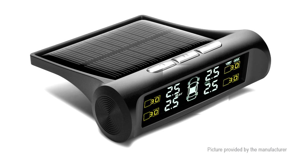 Product Image: wireless-solar-powered-car-tpms-tire-pressure