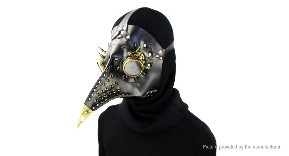 Product Image: steampunk-plague-doctor-cosplay-bird-beak-styled