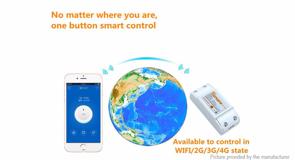 Authentic Sonoff Basic Wifi Smart Switch