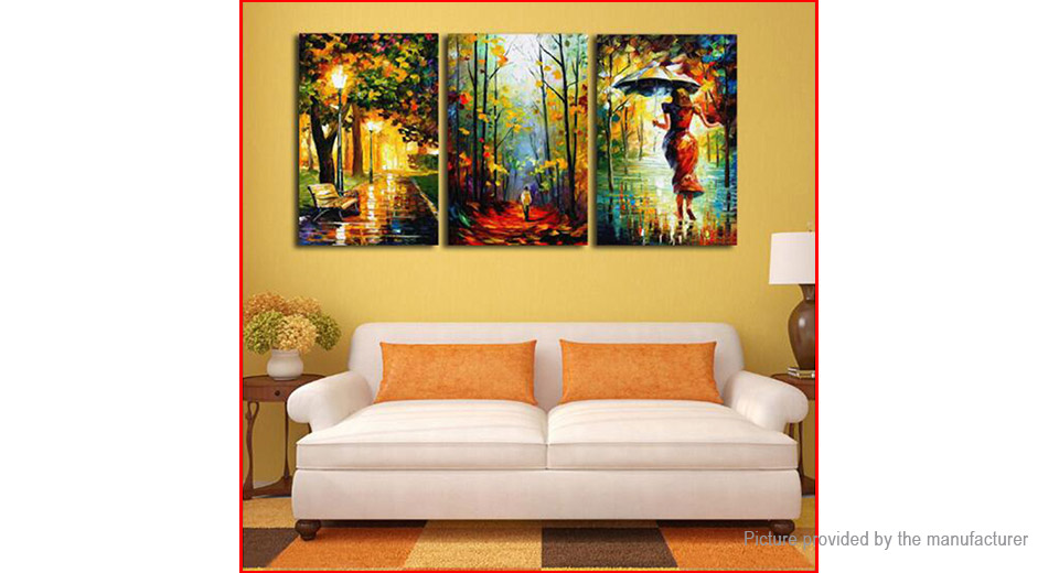 $3.68 No Frame Modern Abstract Art Canvas Oil Painting Wall Decor (3 ...