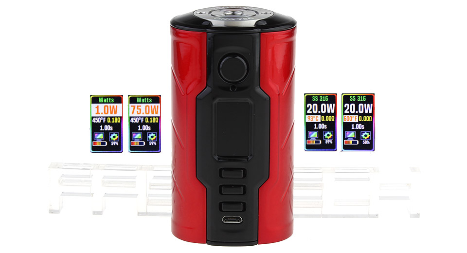 Product Image: authentic-vapecige-creator-dna75c-75w-tc-vw-apv