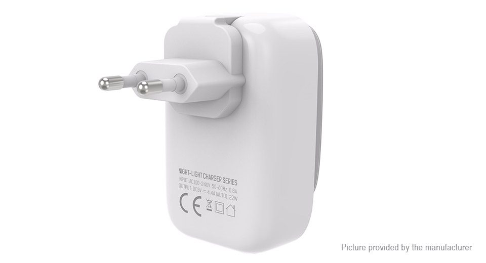 Product Image: ldnio-a4405-4-port-usb-travel-wall-charger-power