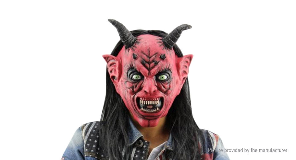 Product Image: full-face-satan-devil-styled-halloween-party