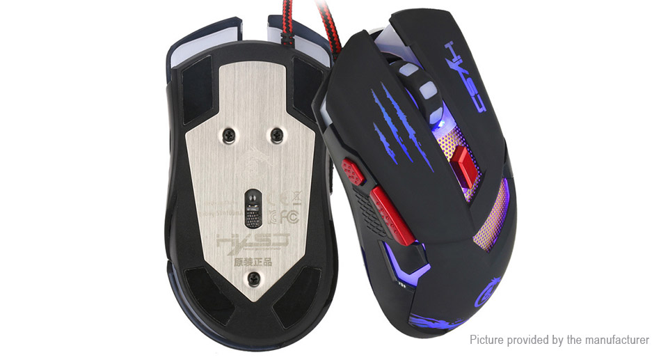 HXSJ H400 Wired Optical Gaming Mouse