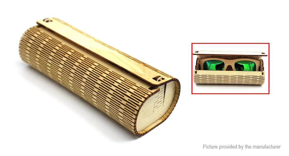 Product Image: vintage-cylinder-bamboo-sunglasses-spectacle-case