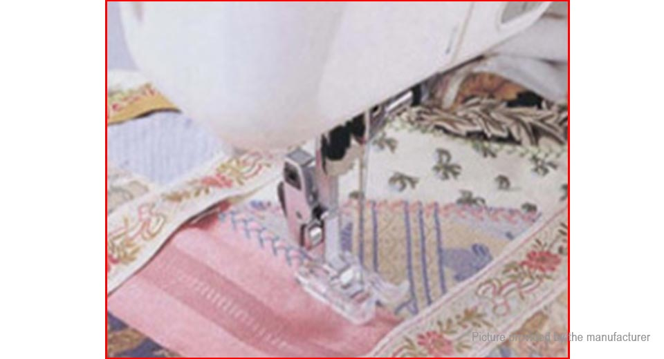 how to set up a butterfly sewing machine