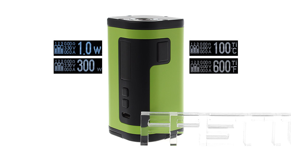 Authentic Eleaf iStick Tria 300W VW TC APV Box Mod