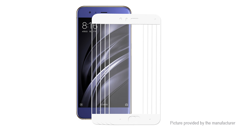 Hat.Prince 2.5D Tempered Glass Screen Protector for Xiaomi Mi 6 (5-Pack)