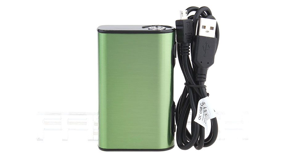 Authentic Eleaf iStick QC 200W 5000mAh TC VW APV Mod (Brushed Green)