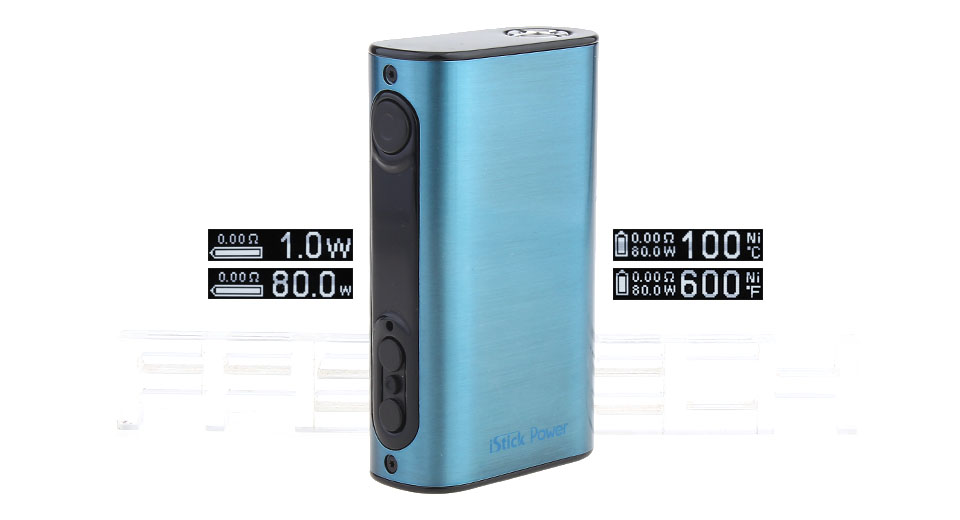 Authentic Eleaf iStick Power 80W 5000mAh TC VW APV Mod (Brushed Blue)