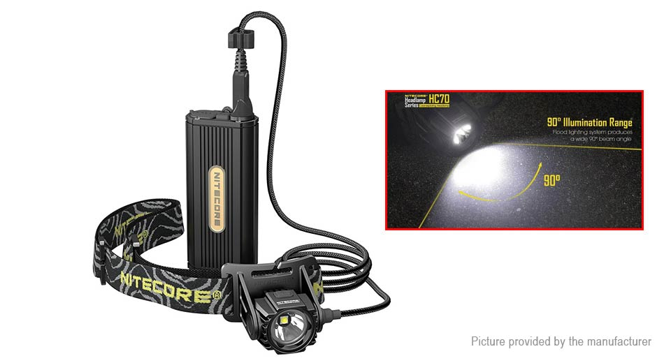 Product Image: authentic-nitecore-hc70-led-headlamp