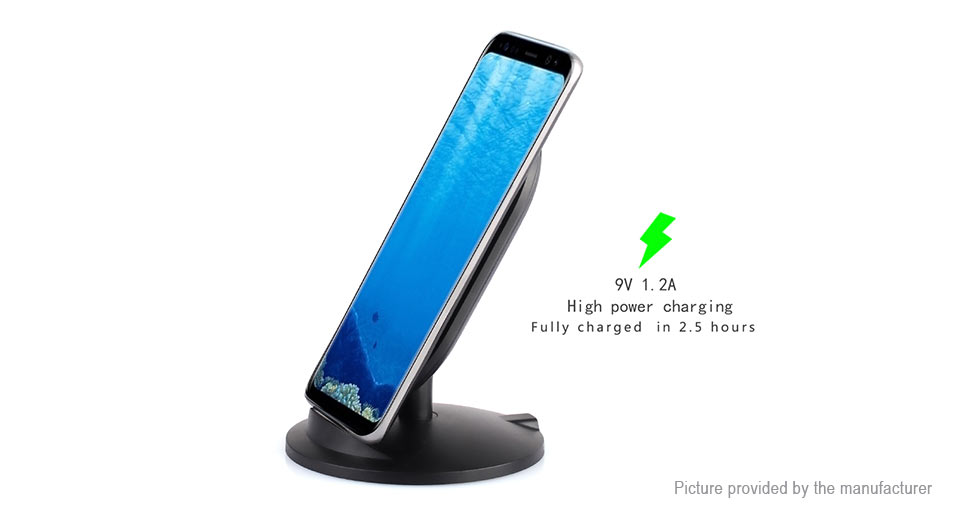 Itian M8 10W Qi Inductive Wireless Charger Transmitter